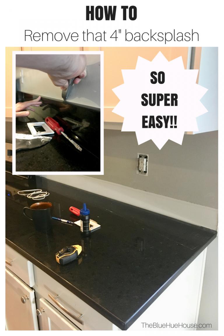 How To Remove Granite Backsplash Easily Granite Backsplash Backsplash Home Decor Kitchen