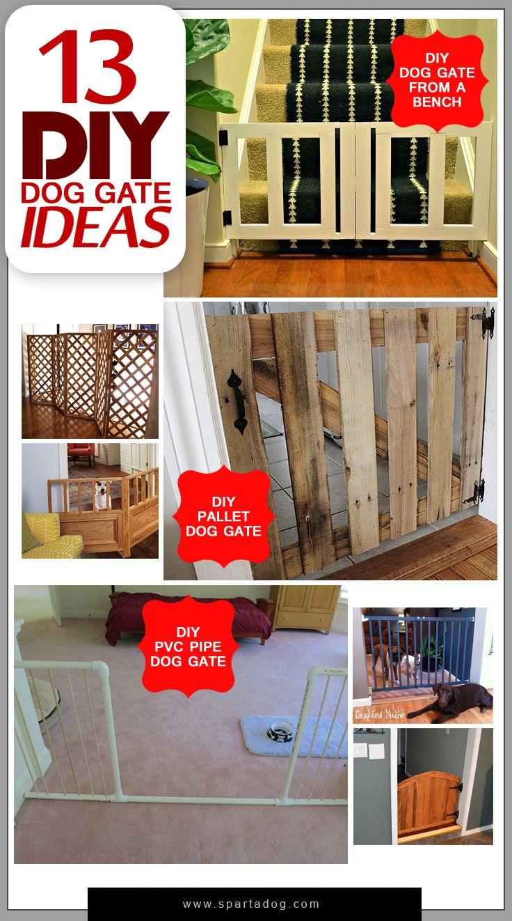 diy dog fence gate