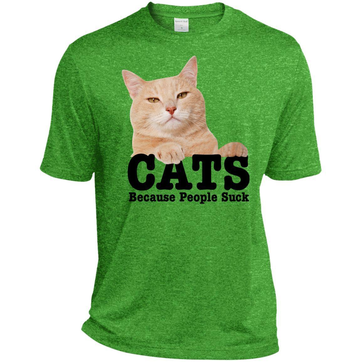 Cat-Cats Tall Heather Dri-Fit Moisture-Wicking Tee