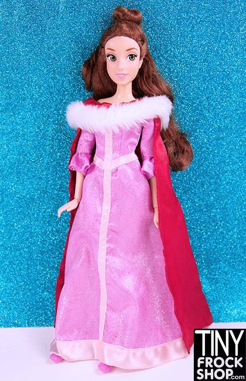 Barbie Disney Christmas Belle Beauty And The Beast Doll
