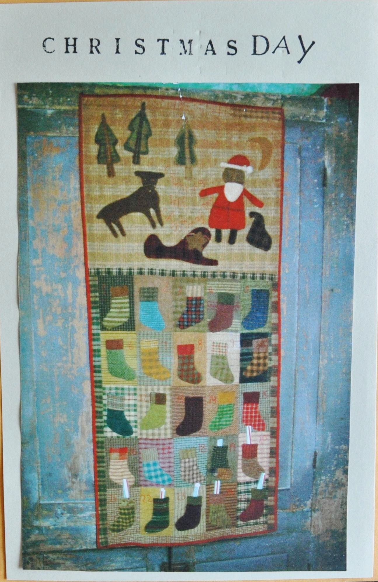 """Another brand NEW pattern from Cheri Payne... How stinkin' cute is 'Christmas Day' Finished size about 50"""" by 22"""""""
