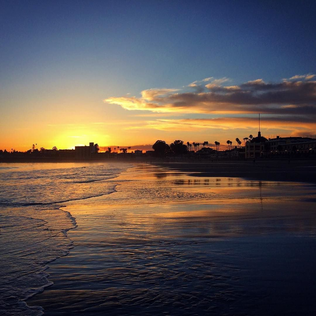 Wai On Instagram Beachboardwalk Santacruz Sunset Beach Boardwalk Santa Cruz Sunset