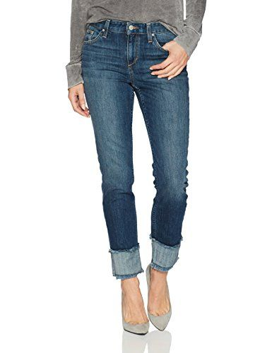 37288510 Women's Smith Midrise Straight Ankle Jean in Lark Pocket Detail, Joes Jeans,  Ankle Jeans