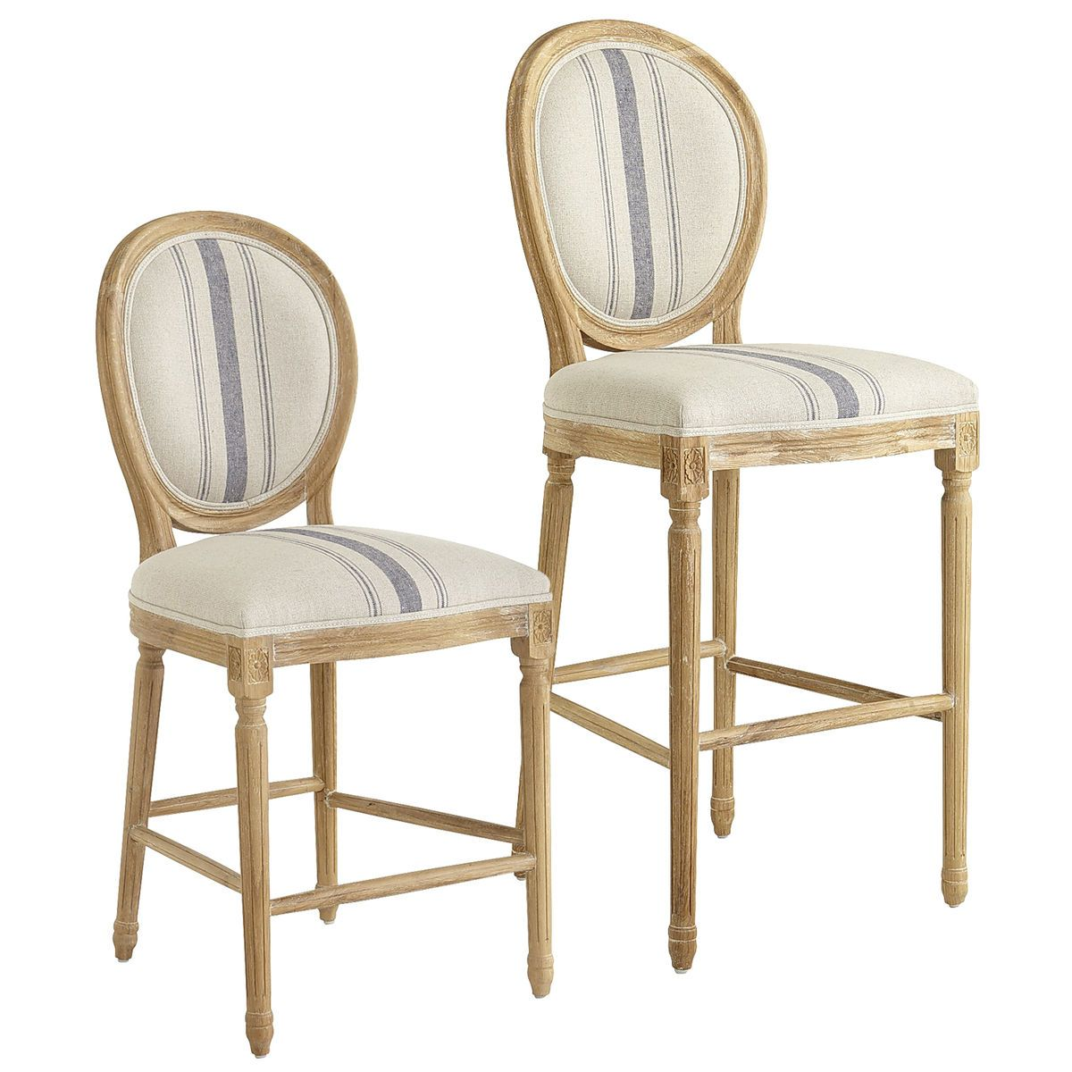 Incredible Eliane Bar Counter Stools Blue Stripe Pier 1 Imports Gmtry Best Dining Table And Chair Ideas Images Gmtryco