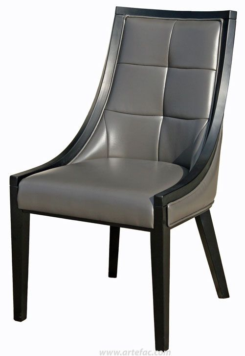 Dining kitchen chairs r 602 accent leather dining for Artefac furniture