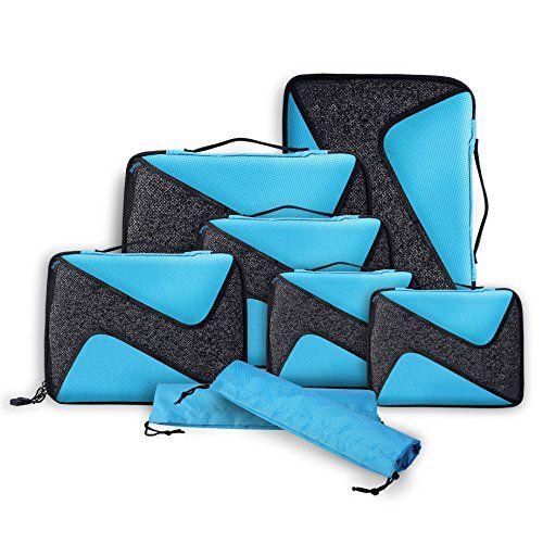 Packwurfel Packing Cubes Packtaschen Im 8 Teiligen Sparse Https Www Amazon De Dp B06wgqn859 Ref Cm Sw R Pi Dp X Rmpzybs2x008x Packing Cubes Travel Cubes