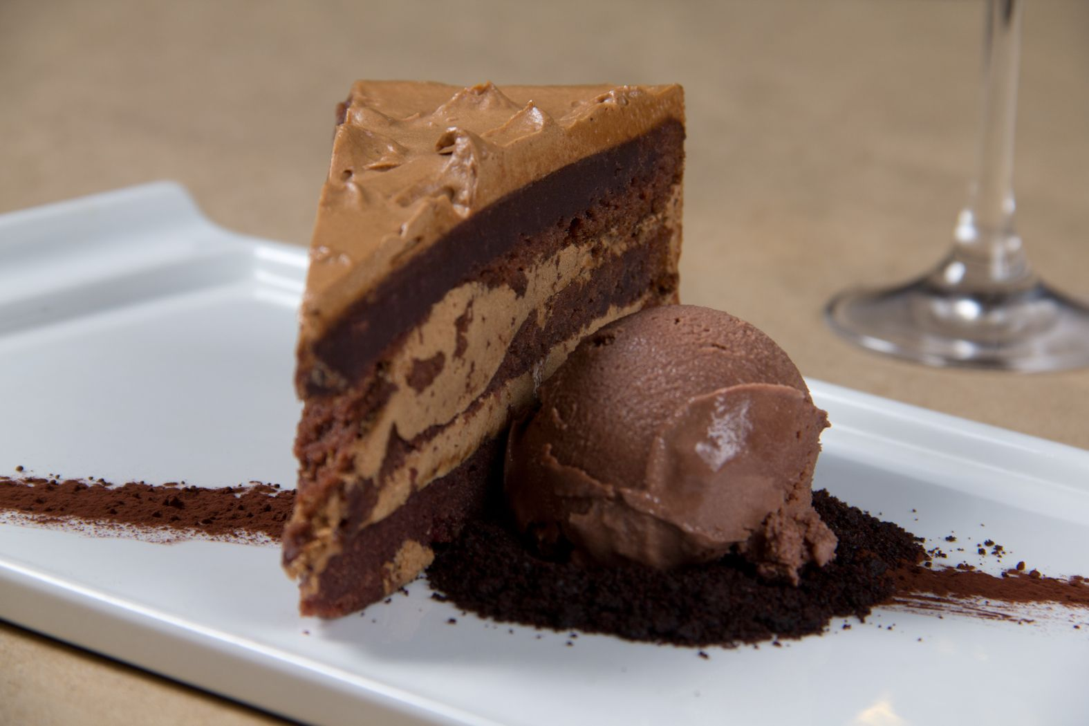Chocolate mousse cake delicious desserts chocolate