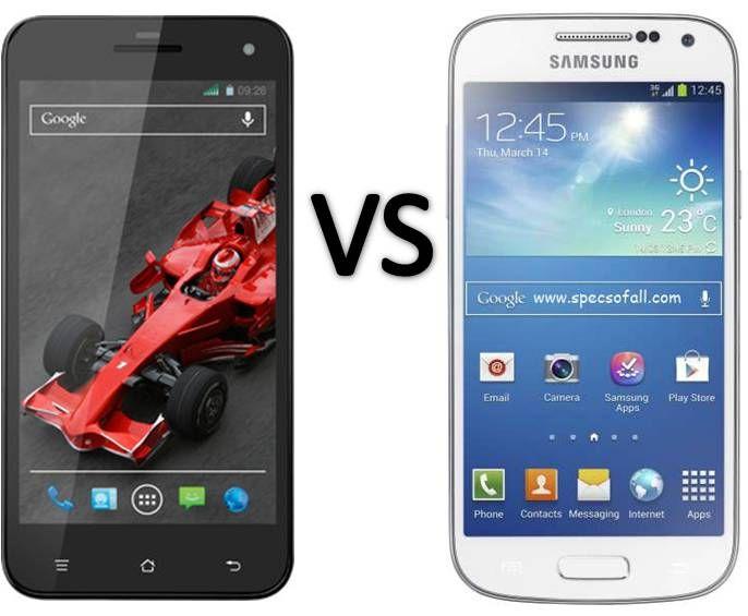 Compare Xolo Q1000S vs Samsung Galaxy S4 mini Smartphone
