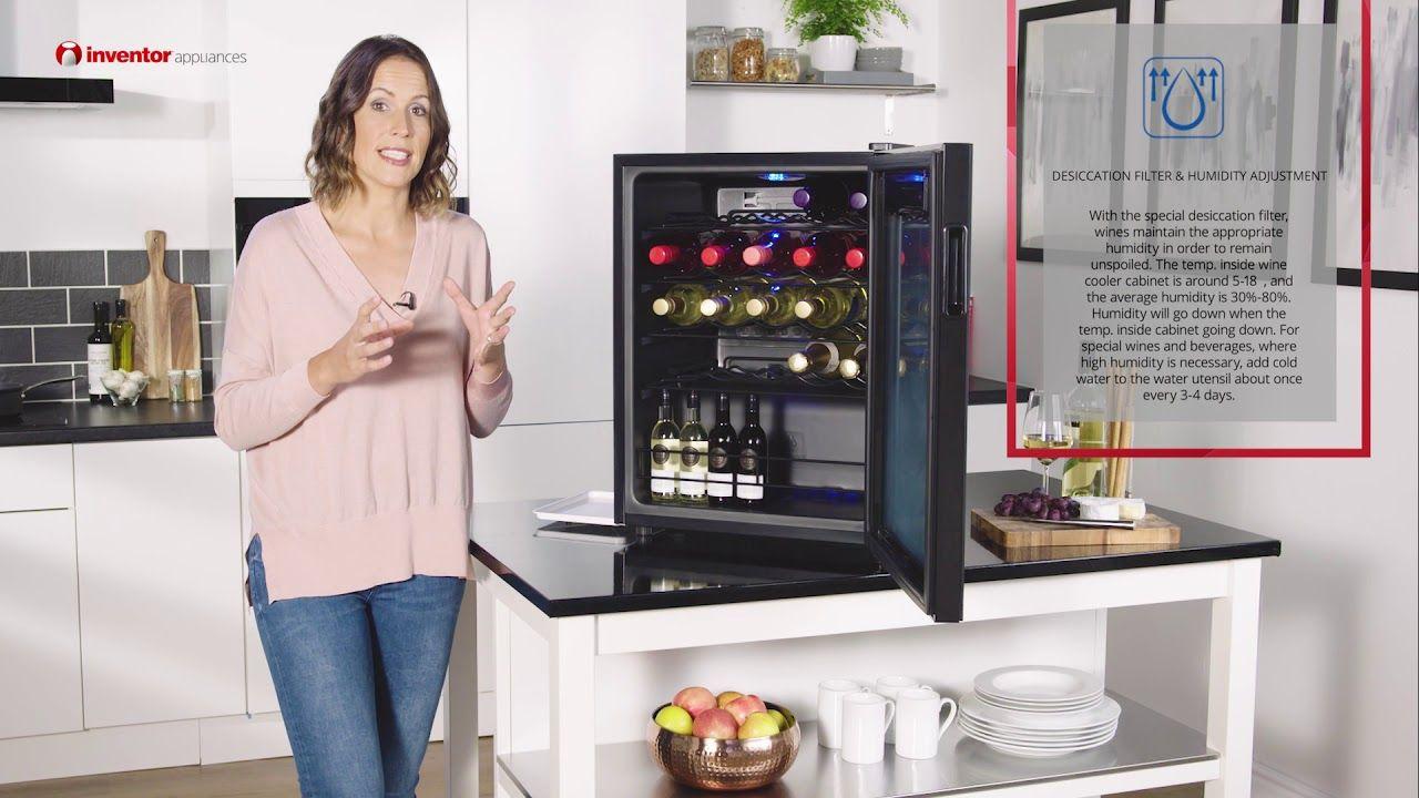 Nevera Para Vinos Inventor Vino Inventor Wine Cooler Home Appliances