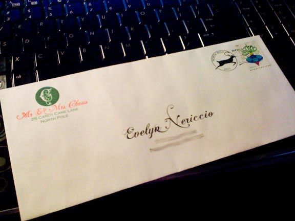 Free Printable Santa Letter And Envelope. I Already Have One But This One  Is So