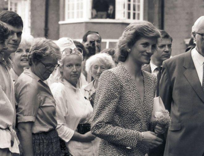 23 MAY 1989 PRINCESS DIANA VISITS BARLEY WOOD, WRINGTON, AVON AND THE OFFICES OF BRISTOL RELATE