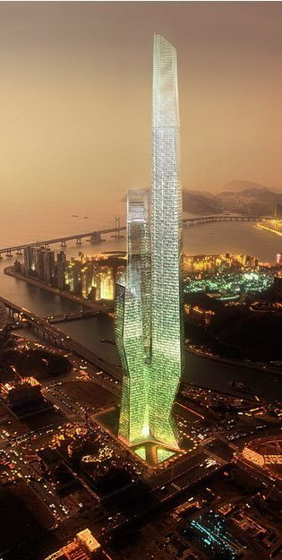 Millennium Tower by Asymptote Architecture