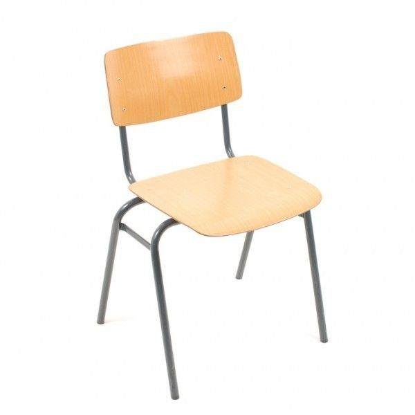 Located Using Retrostart.com U003e Kwartet School Chair Dinner Chair By Unknown  Designer For Marko