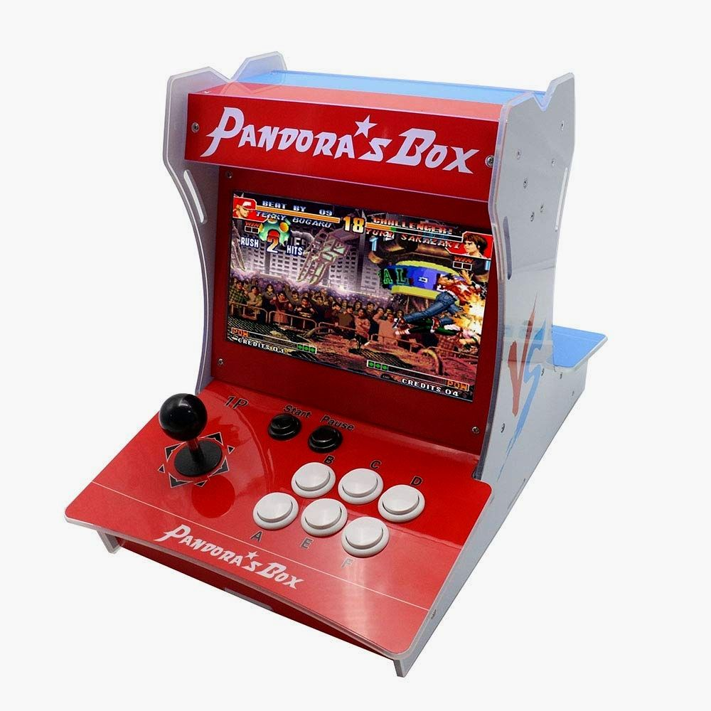 Pandora S Box 9 Mini Bartop Arcade Machine Box 1500 In 1 Table Top Video Game Console 2 Player Controller Joystick Arcade Game Machines Top Video Games Arcade