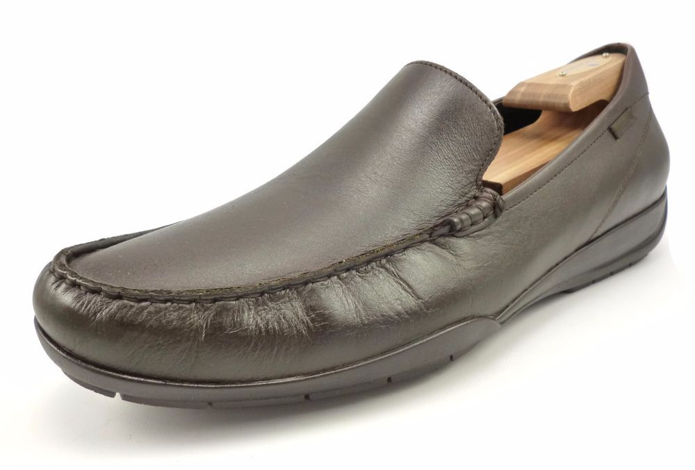 0917c368d64 Mephisto Men's Chabris Leather Slip On Loafers Size 12 US Shoes Chestnut  Brown | eBay