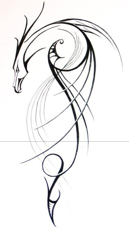 Tatto Ideas 2017  Chinese Dragon Tattoo by Risachantag...