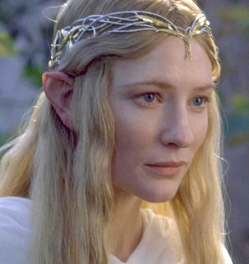 Cate Blanchett as the Lady Galadriel The Fellowship of the Ring