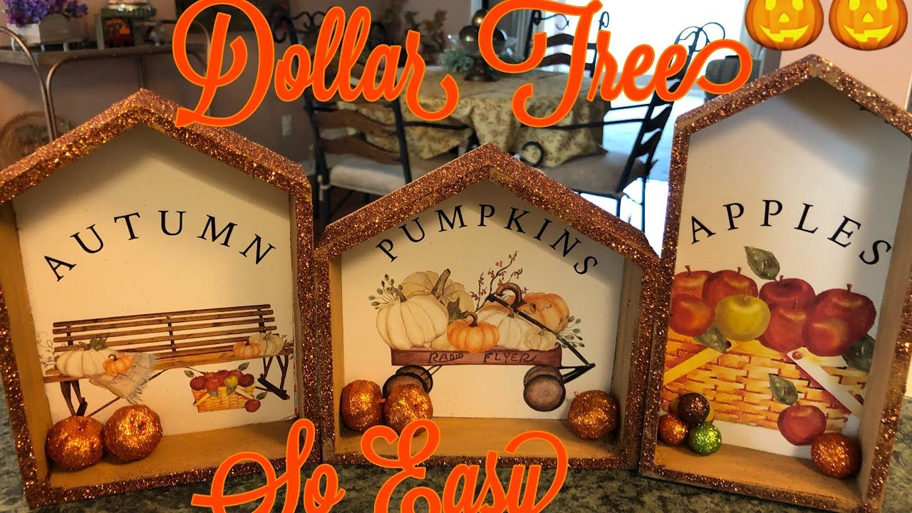Three Fall Dollar Tree Diy Pictures 2019 Youtube Dollar Tree