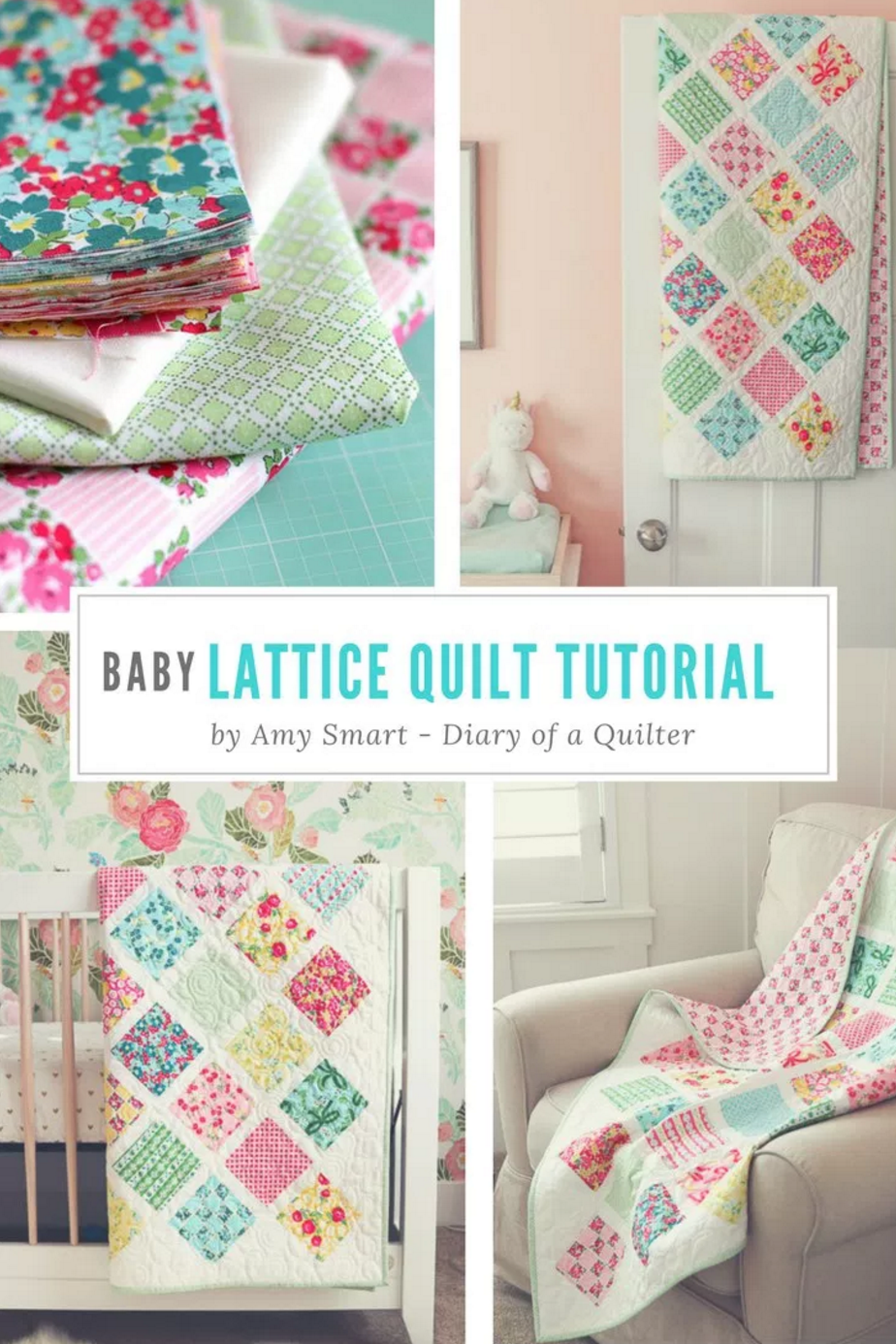 Dainty darling fabric tour day 4 with amy smart from diary of a diy your photo charms compatible with pandora bracelets make your gifts special make your life special baby quilt tutorial perfect for using charm baditri Choice Image