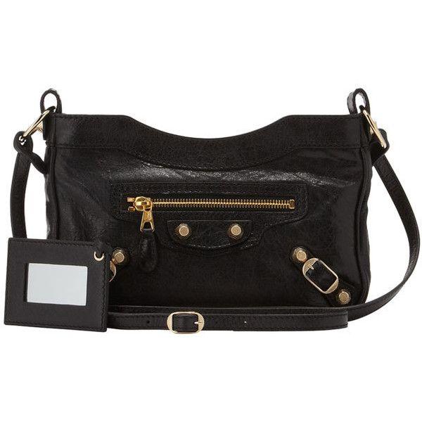 937f744d89 Clic Hip Leather Shoulder Bag Balenciaga Mytheresa