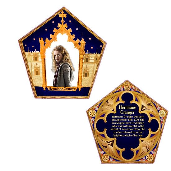 Chocolate Frog Cards Hermione Granger By Rachel5775 Harry Potter Ornaments Harry Potter Props Harry Potter Pictures