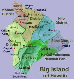 south point hawaii map Visiting The Big Island Of Hawaii Our Itinerary With Images