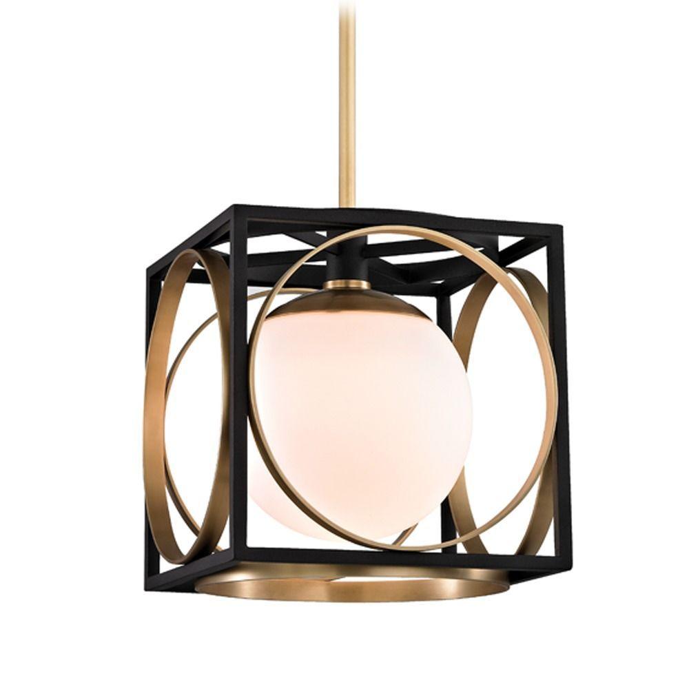 Mid Century Modern Pendant Light Br Wadsworth By Hudson Valley Lighting