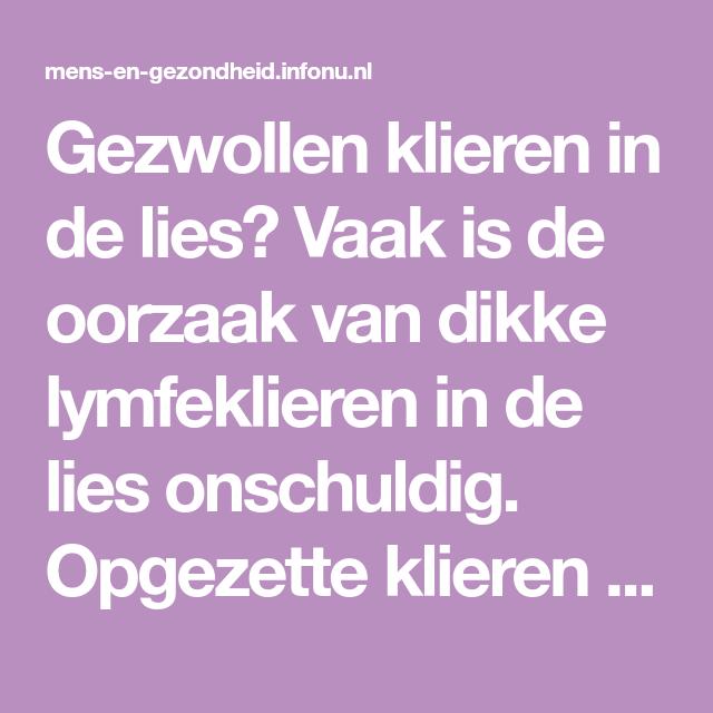 opgezwollen lies