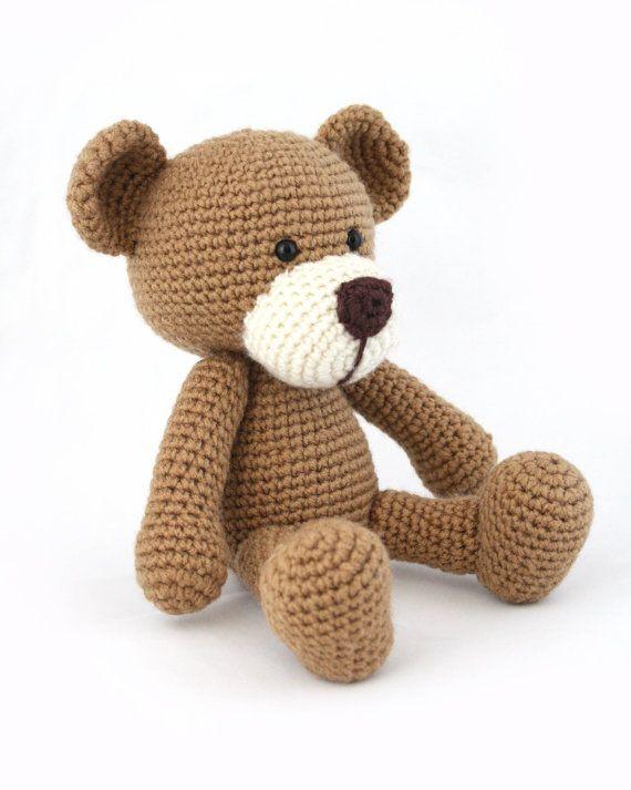 Download Now - CROCHET PATTERN Teddy Bear PDF 102 | Osos, Patrones y ...