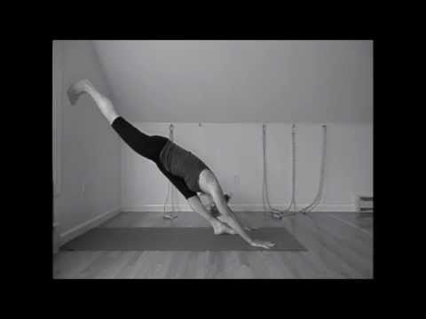 wall variations of parighasana gate pose  youtube