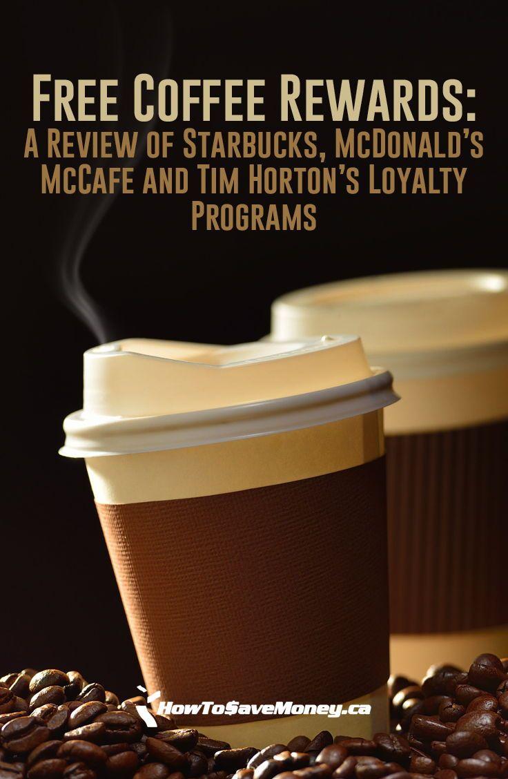 Free Coffee Rewards A Review of Starbucks, McDonald's