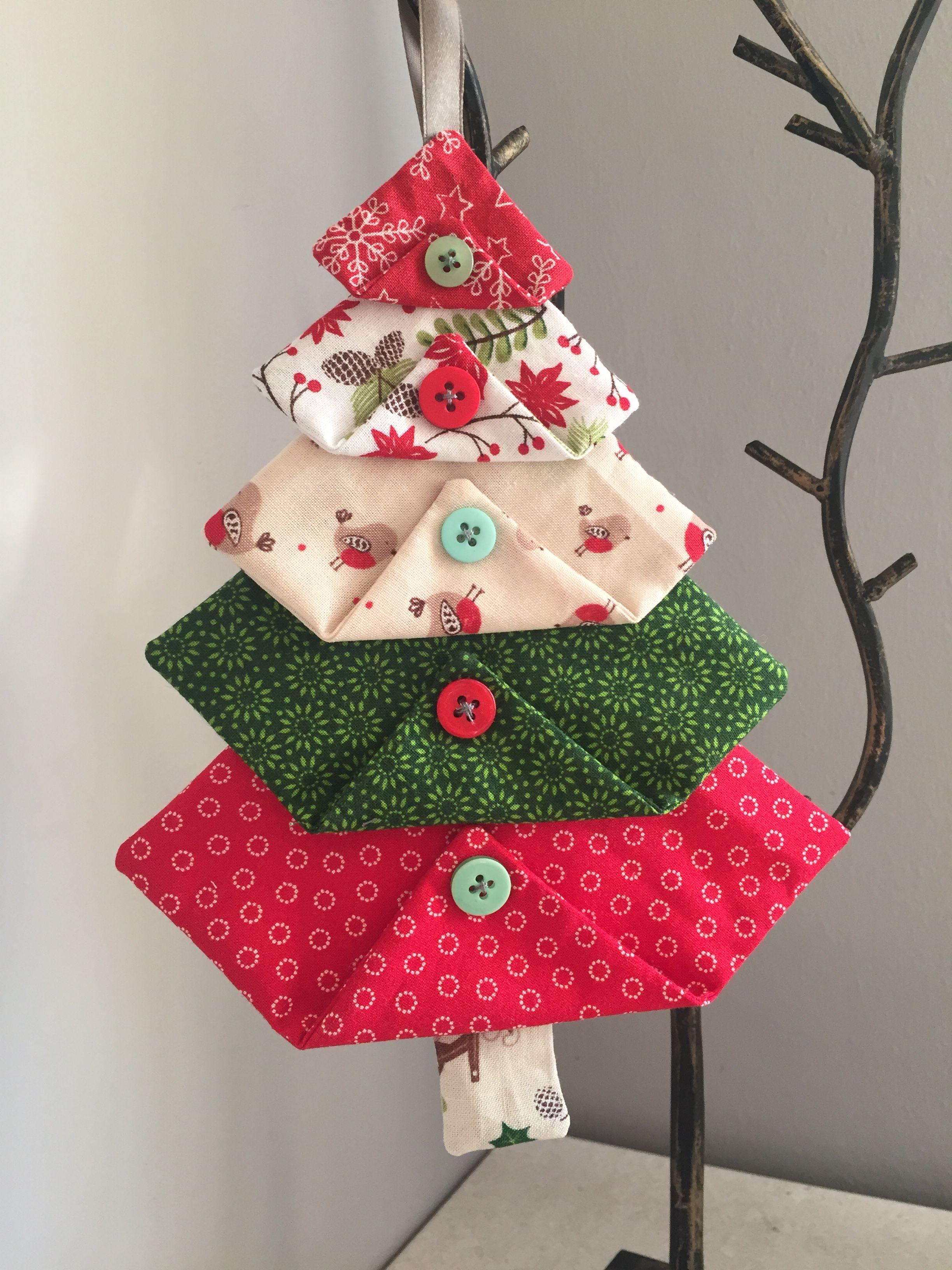 Fabric Christmas Tree Decorations Fabric Christmas Ornaments Fabric Christmas Decorations Fabric Christmas Trees