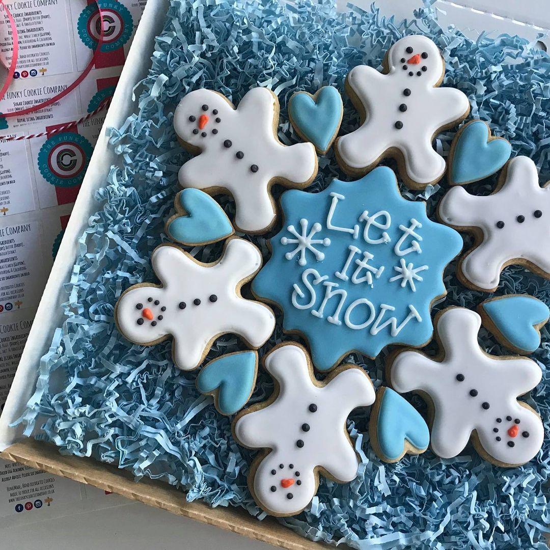 Winter Cookie Platter Winter Cookie Vanilla Sugar Cookie Recipe