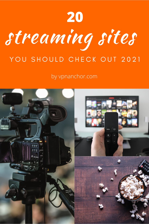 movie streaming service by VPNAnchor