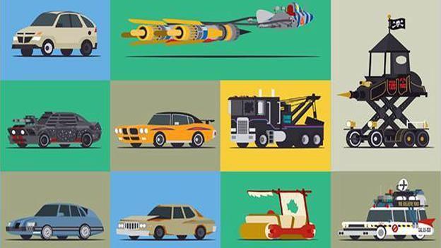 Infographic: Star Cars, Part Deux