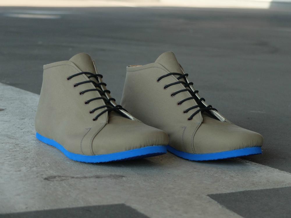 3b07b82c53 SORBAS Shoes Berlin - SORBAS  66 organic cotton shoes oliv   cobalt
