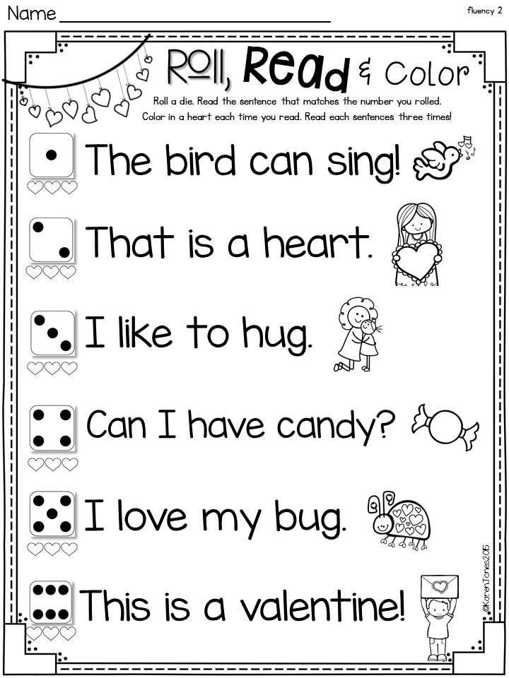 Valentine\'s Day Printable Pack {Kindergarten} | Math activities ...