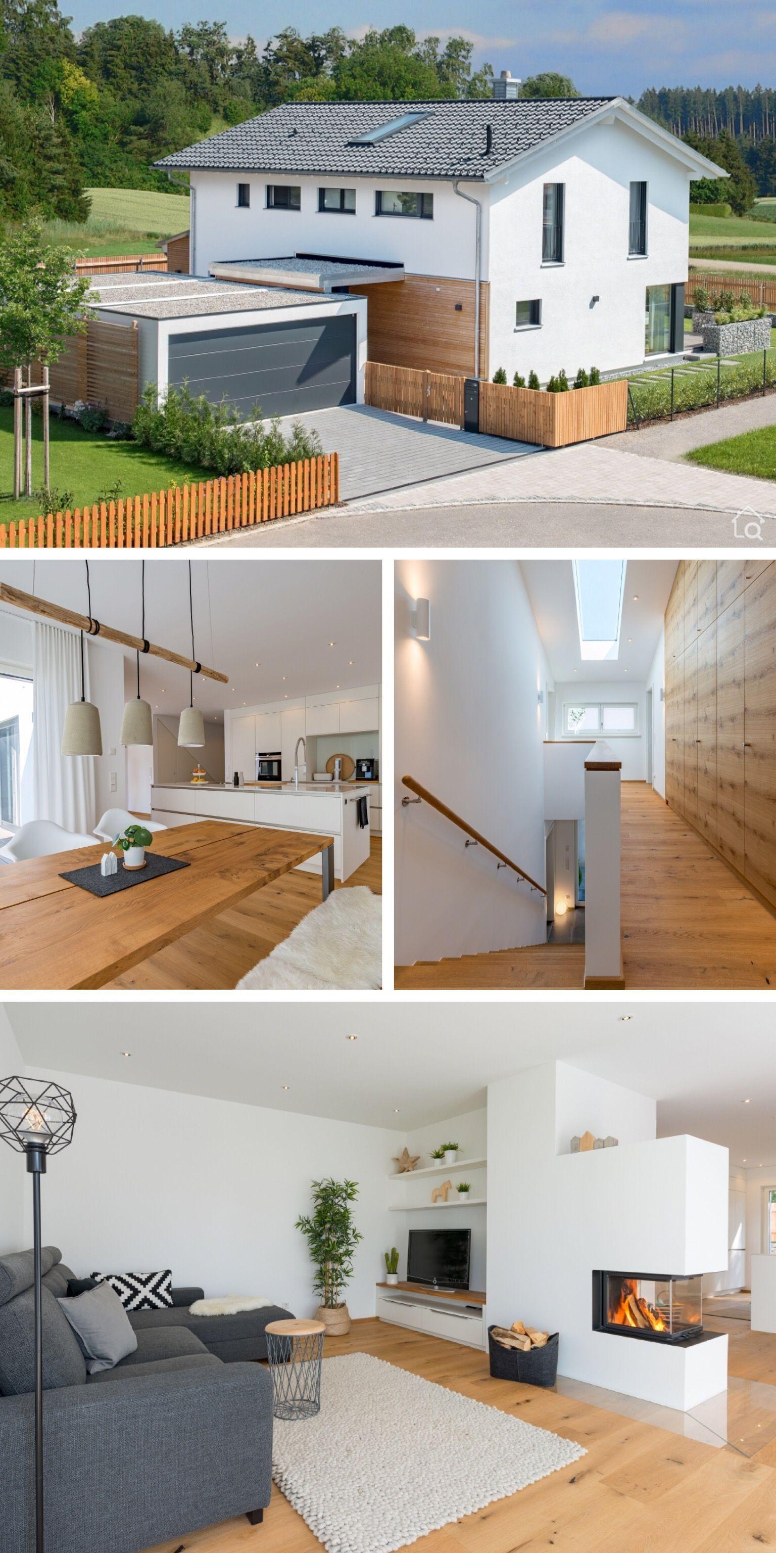 Einfamilienhaus ÖKOHAUS HERB mit Garage Baufritz
