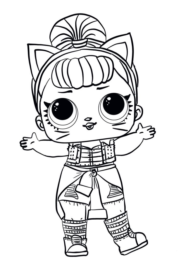 40 Free Printable Lol Surprise Dolls Coloring Pages Cute Coloring Pages Lol Dolls Cartoon Coloring Pages