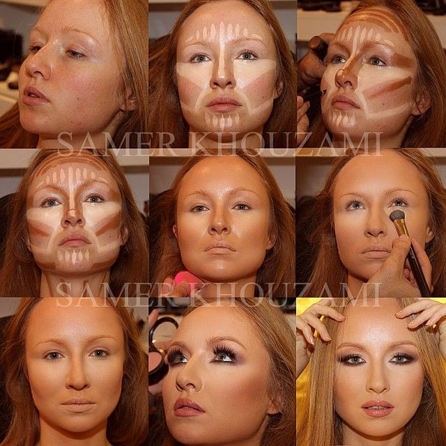makeup for sagging jowls - Google Search | contouring | Pinterest ...
