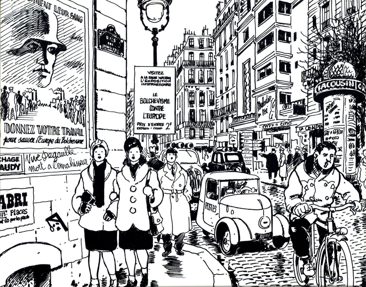Jacques TARDI War and Mail - The Extraordinary Everyday Life of French People during wartime - 1870-1945 The Second World War