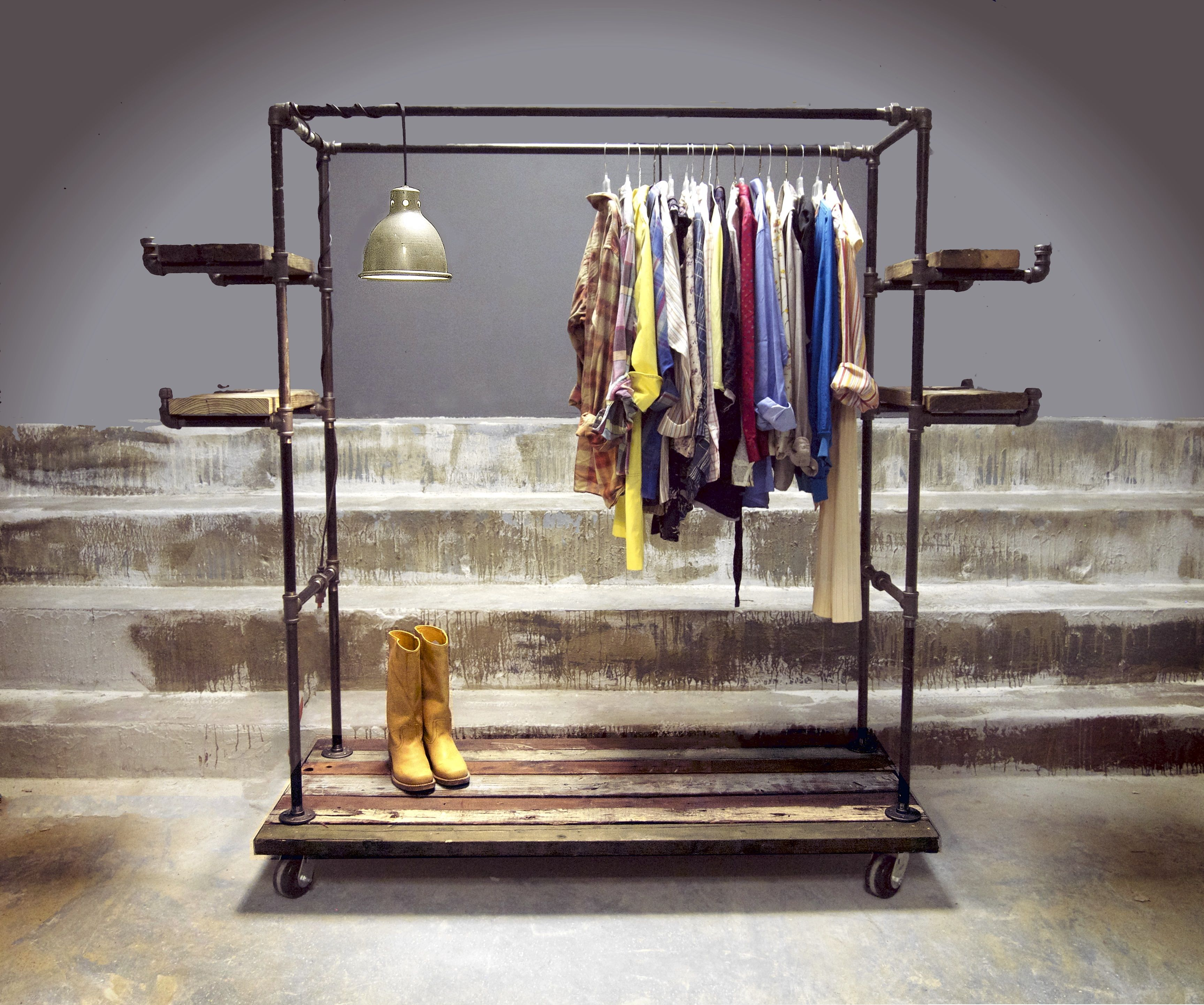 watch clothes laundry youtube hanging lofti rack drying
