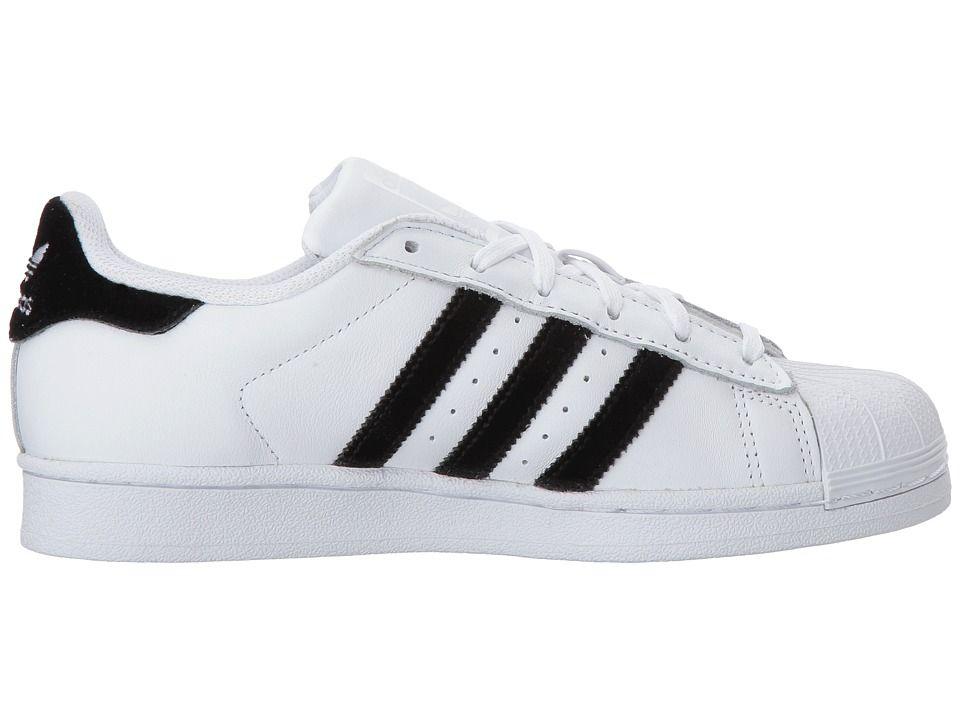 adidas Superstar Velvet (Big Kid) Originals Kids Shoes White