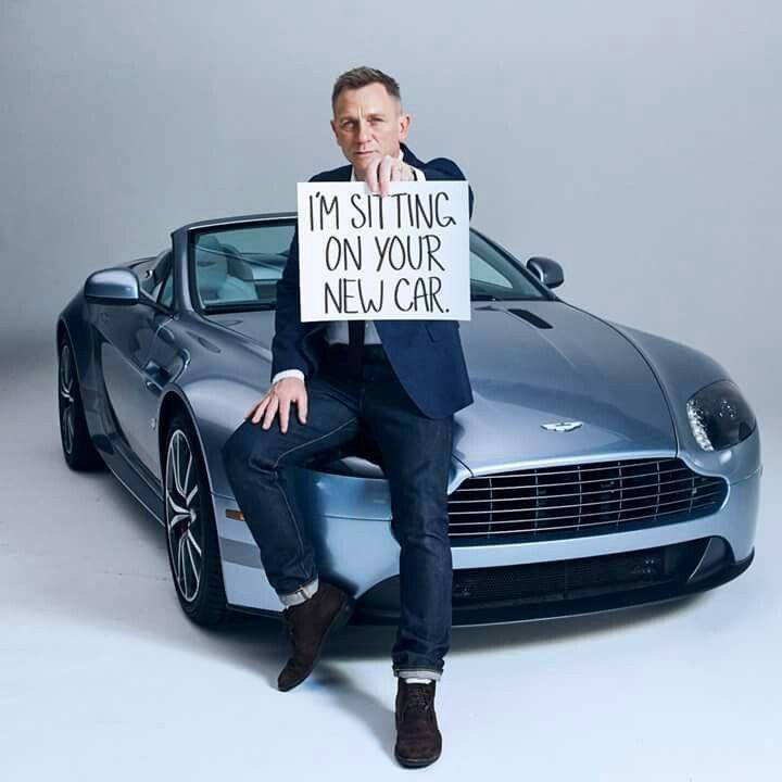 James Bond star Daniel Craig advertising for Aston Martin ...