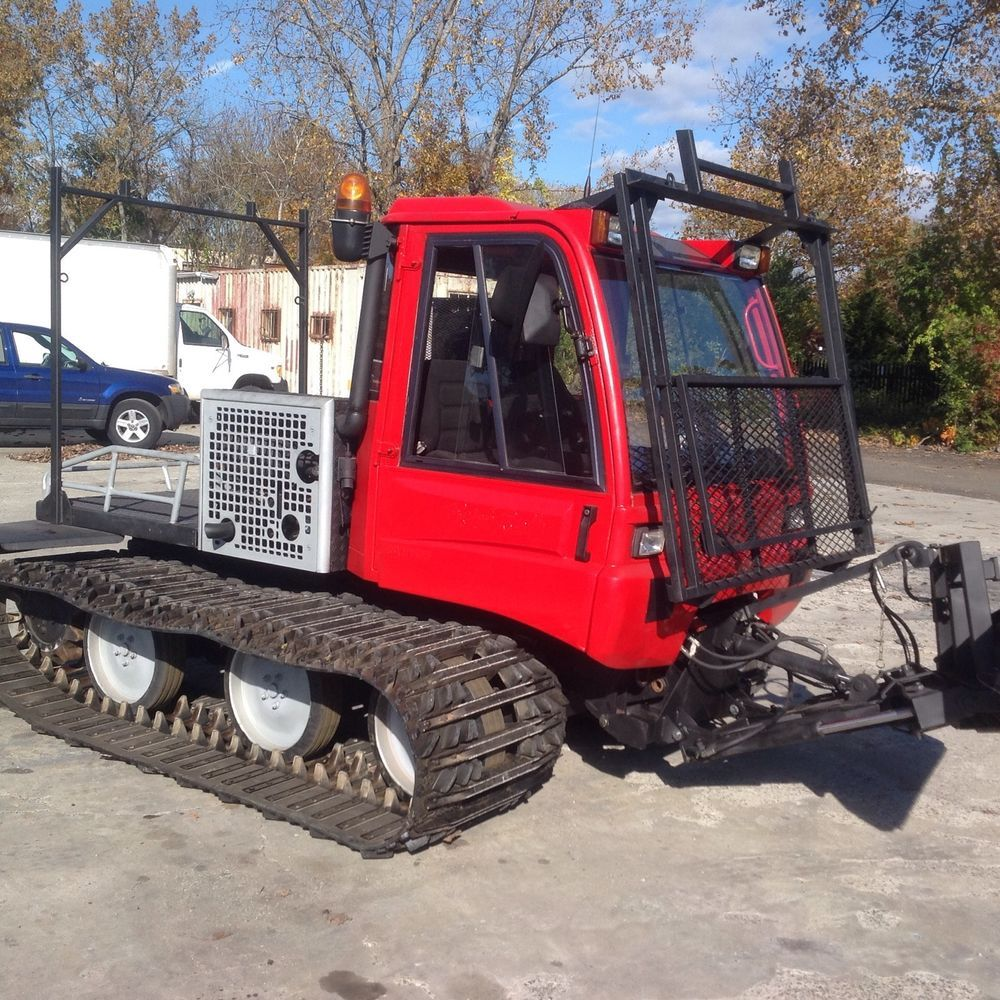 Pisten Bully Utility Groomer Snow Cat Diesel Track Machine | Ideas