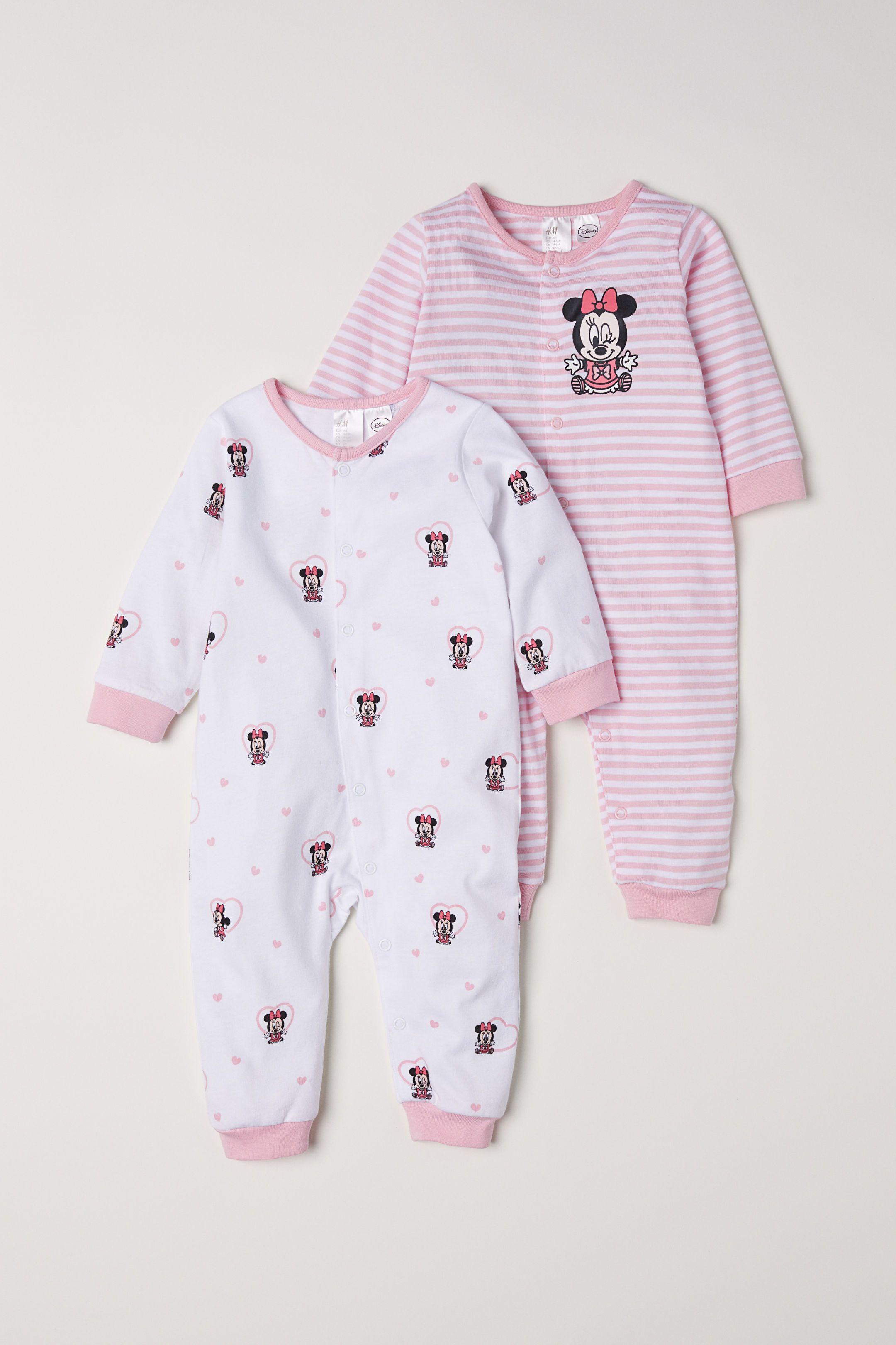 95397b319c7 2-pack Jumpsuits - Light pink Minnie Mouse - Kids