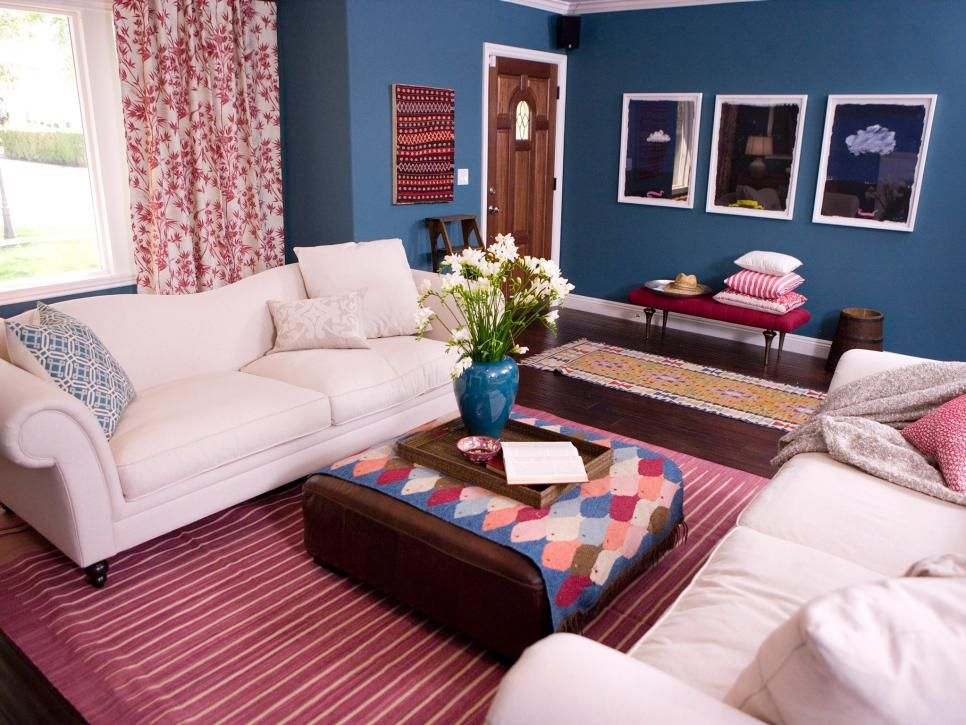 Red White And Blue Living Room Blue Living Room Decor Blue Living Room Country Style Living Room