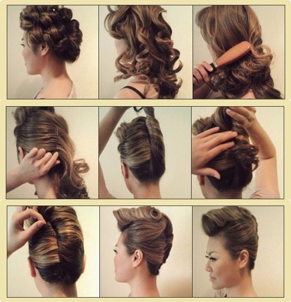 Step By Step Hairstyles: Sweet Punk Hairstyle Tutorial Step By Step For Women