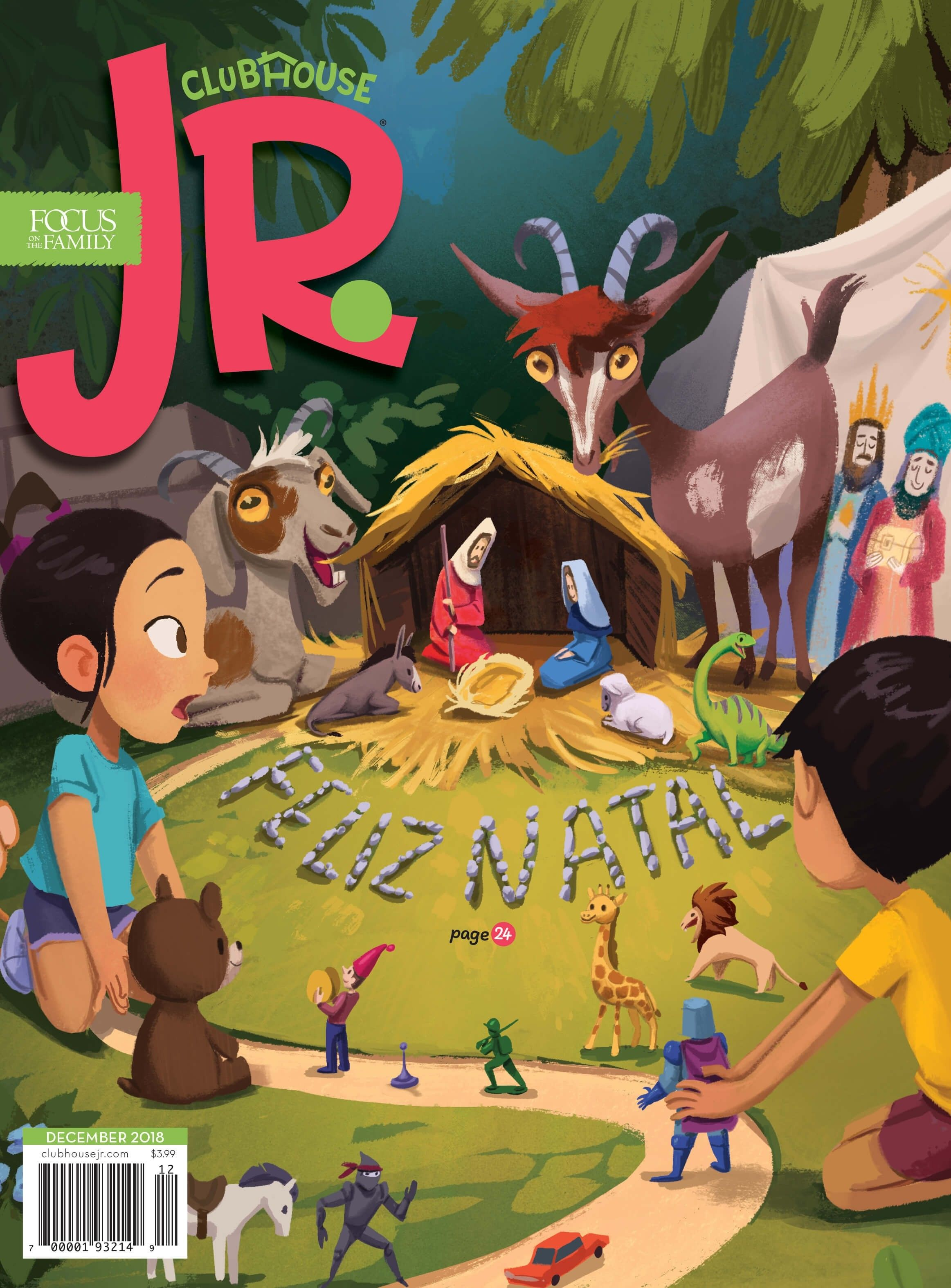 Clubhouse Jr. Magazine Subscription 12 Issues (1 Year