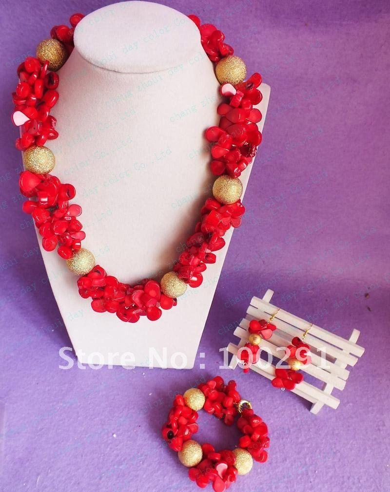 font-b-Amazing-b-font-new-font-b-design-b-font-red-leaf-coral-bead ...